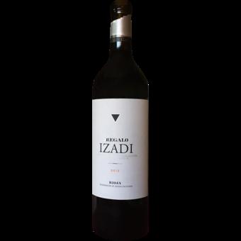Bottle shot for 2012 Izadi Rioja El Regalo