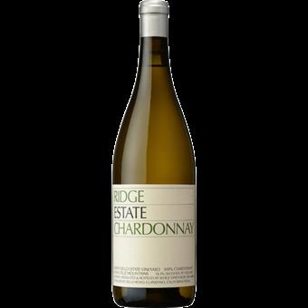 Bottle shot for 2019 Ridge Estate Chardonnay
