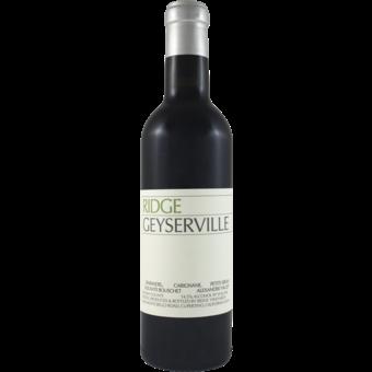 Bottle shot for 2019 Ridge Geyserville Red Half Bottle