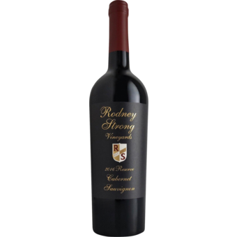 Bottle shot for 2016 Rodney Strong Reserve Cabernet Sauvignon