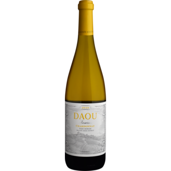 Bottle shot for 2019 Daou Paso Robles Reserve Chardonnay