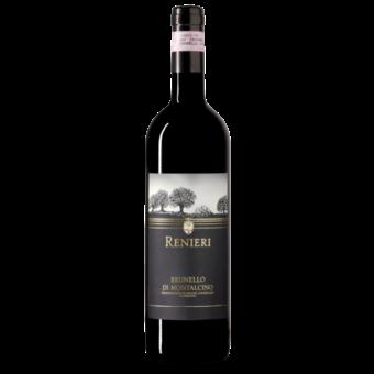 Bottle shot for 2016 Renieri Brunello Montalcino