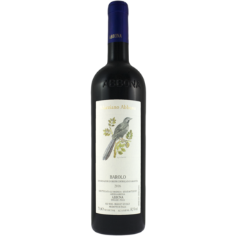 Bottle shot for 2017 Marziano Abbona Barolo