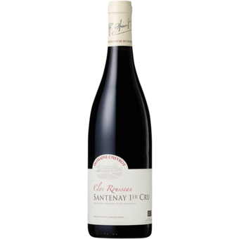 Bottle shot for 2018 Domaine Chevrot Santenay 1er Cru Clos Rousseau