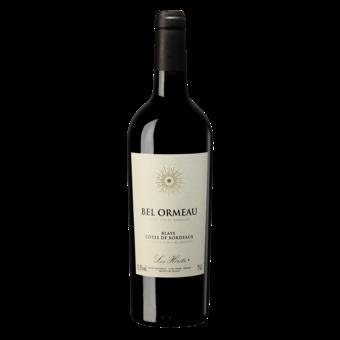 Bottle shot for 2018 Bel Ormeau Cotes De Bordeaux