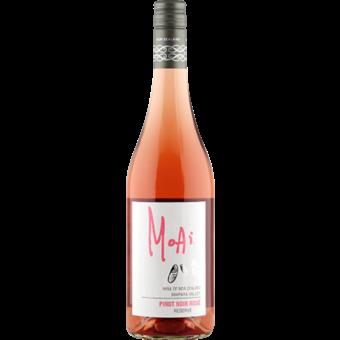 Bottle shot for 2019 Moai Pinot Noir Rose Reserve