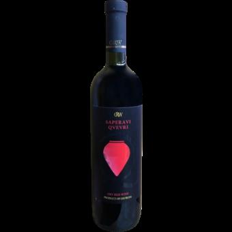 Bottle shot for 2018 Grw Saperavi Qvevri Dry Red Wine