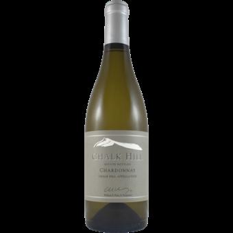 Bottle shot for 2018 Chalk Hill Estate Chardonnay
