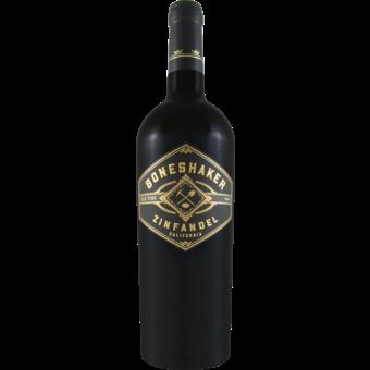 Bottle shot for 2019 Hahn Boneshaker Old Vine Zinfandel