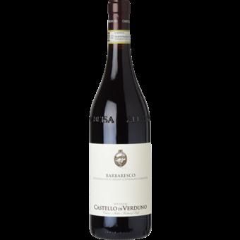 Bottle shot for 2018 Castello Di Verduno Barbaresco