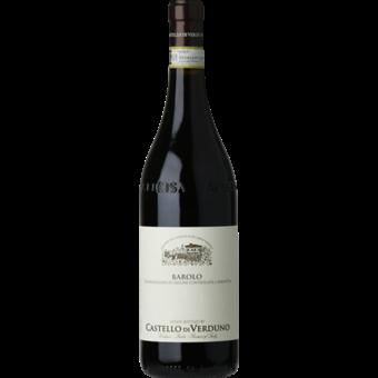 Bottle shot for 2017 Castello Di Verduno Barolo