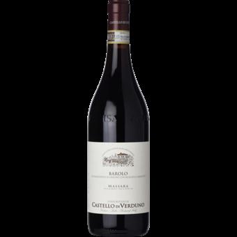Bottle shot for 2016 Castello Di Verduno Barolo Massara