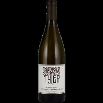 Bottle shot for 2017 Tyler Chardonnay 'bien Nacido Vineyard' W Block