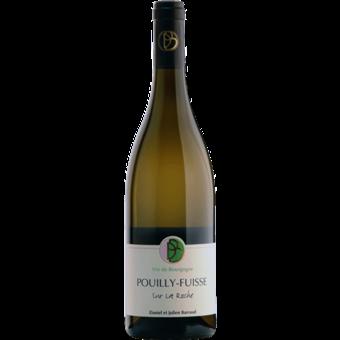 """Bottle shot for 2018 Domaine Barraud Pouilly Fuisse """"Sur La Roche"""""""