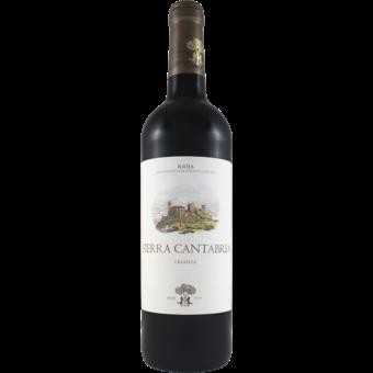 Bottle shot for 2017 Sierra Cantabria Crianza