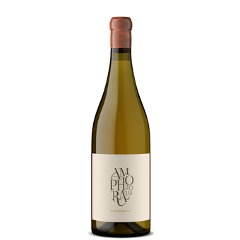 Bottle shot for 2019 Gabrielskloof Sauvignon Blanc 'amphora' Skin Contact (Orange Wine)