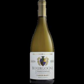Bottle shot for 2018 Caillou Blanc Bourgogne Chardonnay
