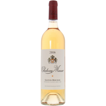 Bottle shot for 2016 Chateau Musar Rose