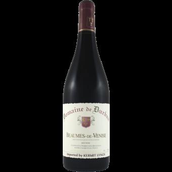 Bottle shot for 2018 Domaine De Durban Beaumes De Venise Rouge