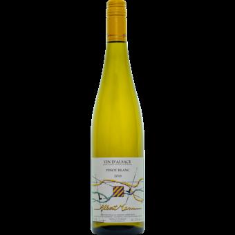 Bottle shot for 2018 Albert Mann Pinot Blanc