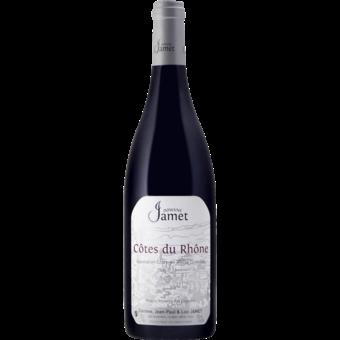 Bottle shot for 2018 Jamet Cotes Du Rhone Rouge