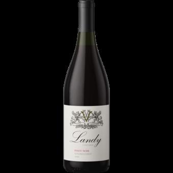 Bottle shot for 2019 Landy Vineyards Sonoma Coast Pinot Noir