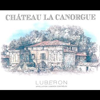 Label shot for 2020 Chateau La Canorgue