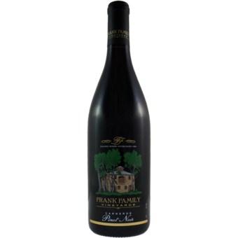 Bottle shot for 2019 Frank Family Pinot Noir