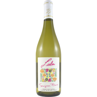 "Bottle shot for 2020 Domaine Jacky Marteau ""Lulu"" Sauvignon Blanc"