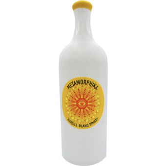 Bottle shot for 2019 Costador Terroirs Mediterranis Catalunya Metamorphika Sumoll Blanc Brisat