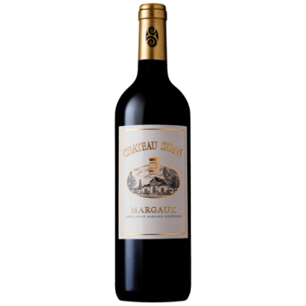 Bottle shot for 2018 Chateau Siran Margaux