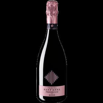Bottle shot for  S.Anna Rose Prosecco