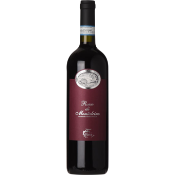 Bottle shot for 2018 Capanne Ricci Rosso Di Montalcino