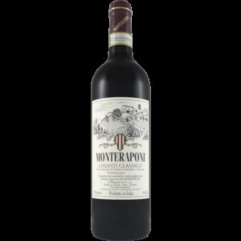 Bottle shot for 2019 Monteraponi Chianti Classico Docg