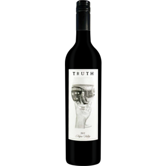Bottle shot for 2012 Truth Red Blend Napa Valley