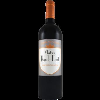 Bottle shot for 2018 Chateau Barde Haut Grand Cru Classe St Emilion