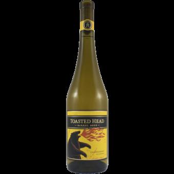 Bottle shot for 2019 Toasted Head Chardonnay