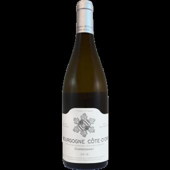 Bottle shot for 2019 Domaine Bzikot Bourgogne Cote D'or Blanc