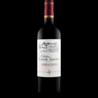 Bottle shot for 2018 Chateau La Rose Gachet Lalande De Pomerol