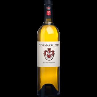 Bottle shot for 2018 Clos Marsalette Blanc