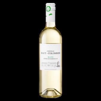 Bottle shot for 2019 Chateau Haut Colombier Blanc