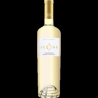Bottle shot for 2019 Chateau Montfollet Icone Blanc