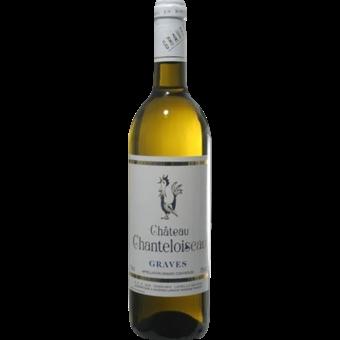 Bottle shot for 2019 Chateau Chanteloiseau Graves Blanc
