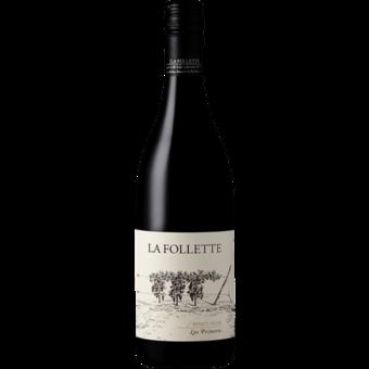 Bottle shot for 2017 La Follette Pinot Noir Los Primeros