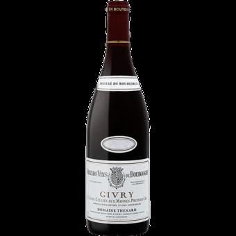 Bottle shot for 2017 Domaine B. Thenard Givry Cellier Aux Moines 1er Cru