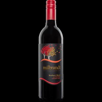 Bottle shot for 2017 Milbrandt Brothers Blend