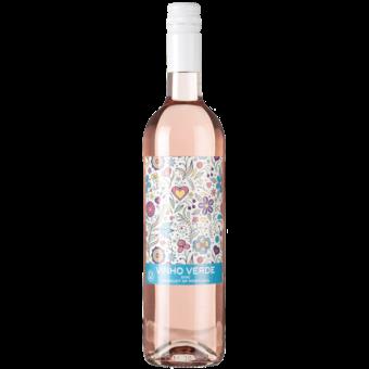 Bottle shot for 2020 Quinta Da Lixa Flores Vinho Verde Rose