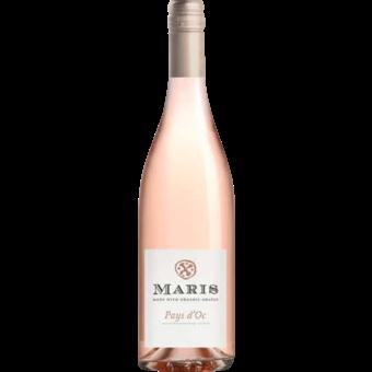 Bottle shot for 2020 Chateau Maris Rose Pays D'oc