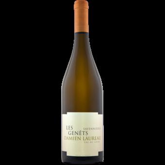 Bottle shot for 2018 Damien Laureau Savennieres Les Genets
