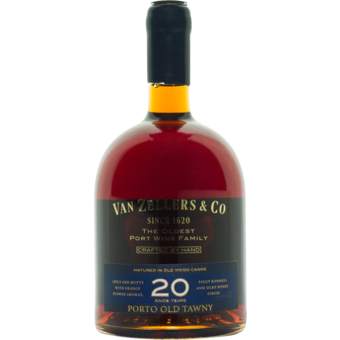 Bottle shot for  Van Zeller 20 Year Port